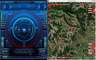 Visulator Map