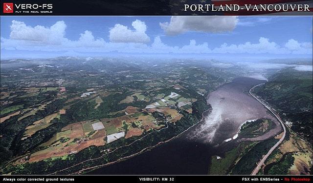 Portland Vancouver Photoreal